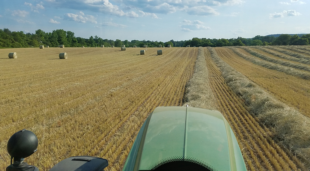 POV from tractor